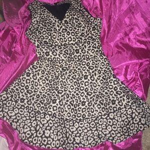 Banana republic leopard gorgeous dress
